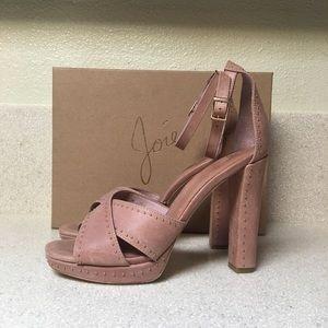 Joie Naara Platform Sandal Dusty Buff Size 39 / 9